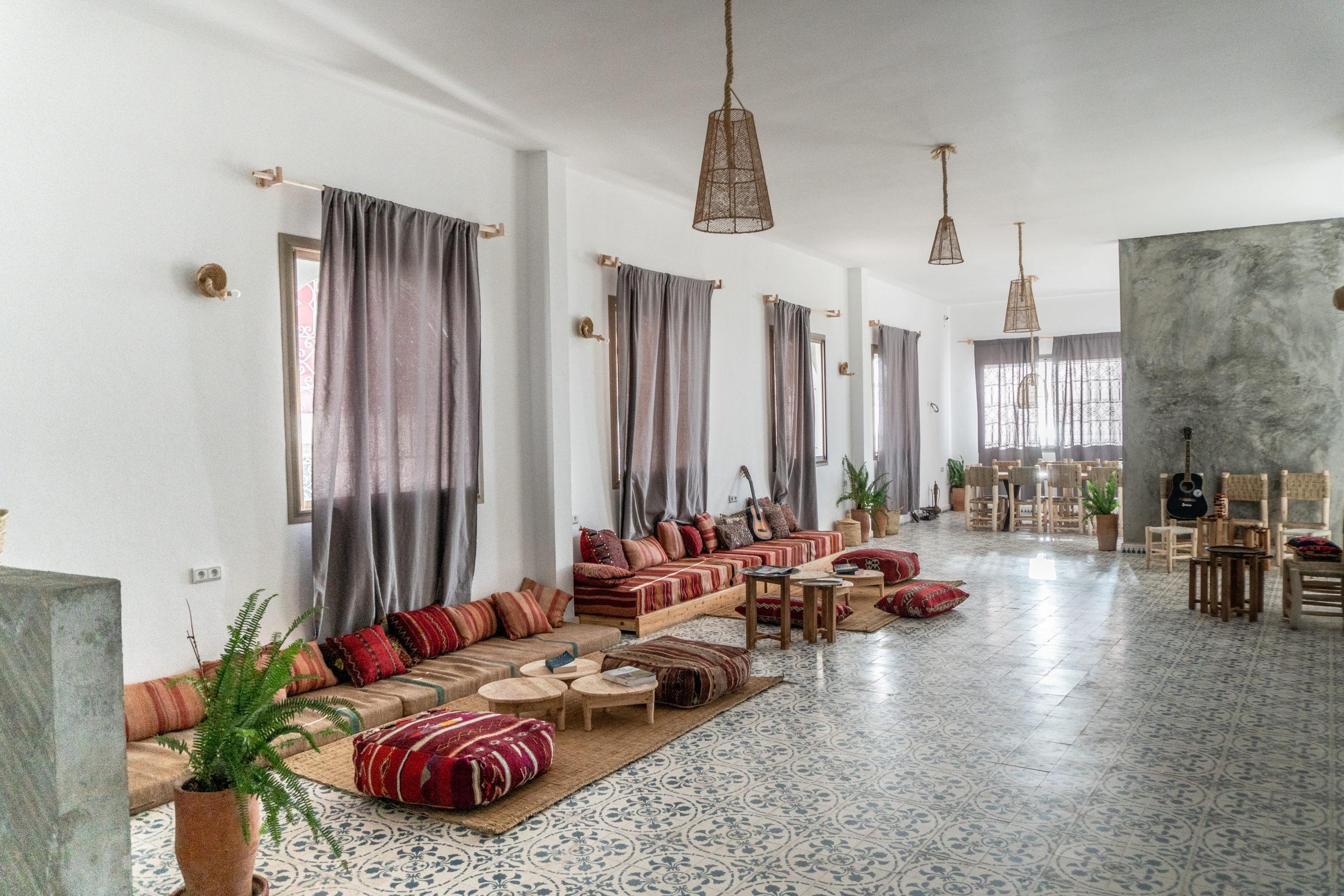 Blue Mind Surf Yoga House Morocco